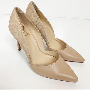 Vince Camuto | Nude Classic Leather Stilettos